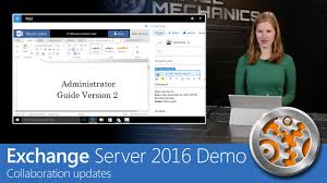 exchange server 2016 demo collaboration updates youtube