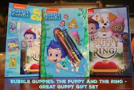 bubble guppies the puppy u0026 the ring great guppy gift set