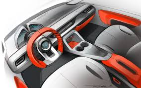 renault dezir interior interior car concept by thomas pinel at coroflotcom sports car