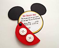 mickey mouse party invitations artsy mama