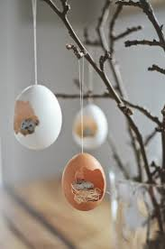 blown eggs decorating easter decoration some simple and stylish easter decor ideas
