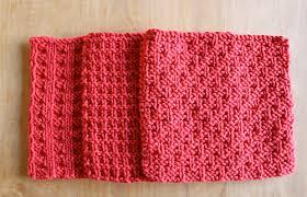 ravelry three dishcloths pattern by joan janes