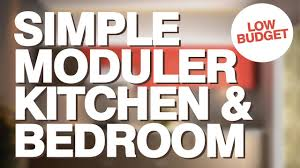 1 bhk flat low cost simple kitchen design tour simple bedroom