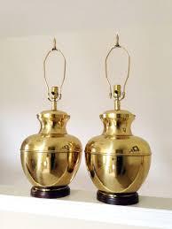 vintage brass urn lamp hollywood regency lamp chinoiserie