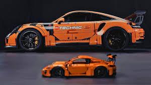 lego lamborghini huracan porsche 911 gt3 rs u2013 lego edition karage tv