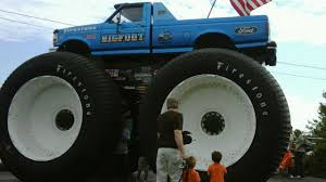 bigfoot electric monster truck 321 monster truck bigfoot russian super auto youtube