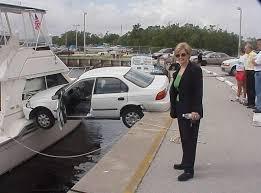 caption contest woman crashed car into boat buffet o u0027 blog