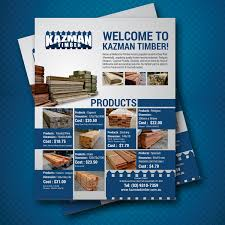 flyer design cost uk economical bold flyer design for kazman timber by uk design 13666920