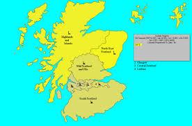 Map Of Glasgow Scotland Uk Elect Scottish Parliament Forecast Regions