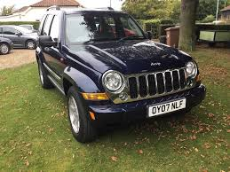 blue jeep jeep cherokee limited 2 8 diesel 4x4 6 spd manual in met blue