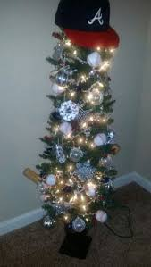 atlanta braves snowflake ornament by mvpsportsllc