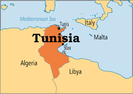 map of tunisia with cities tunisia population area capital cities