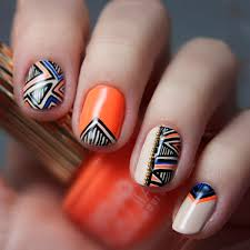 202 best geometric nail art images on pinterest make up pretty