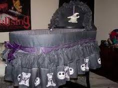nightmare before baby crib bedding the nightmare