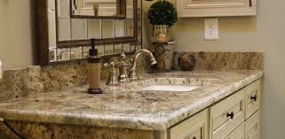Bathroom Vanity Counters Likeable 5 Best Bathroom Vanity Countertop Options Of Granite With