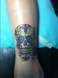 34 best color skull tattoos designs images on pinterest feminine