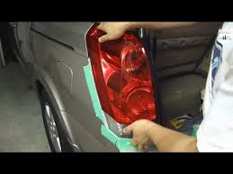 how to replace tail light bulb how to replace brake light bulb nissan quest youtube