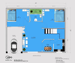 Home Design 50 Sq Ft by 100 3 Feet Plan 3 Bhk Floor Plan For 30 X 50 Plot 1500
