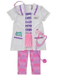 Doc Mcstuffins Costume Disney Doc Mcstuffins Fancy Dress Costume Kids George At Asda