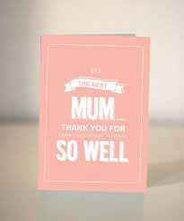 funny mother u0027s day card to the best mum mom ever dickens ink