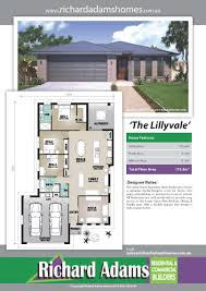 3 bedroom house plans toowoomba builder richard adams homes