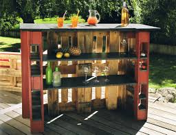 Outdoor Wet Bar by Wet Bar With Pallets Here Are 20 Inspirational Ideas