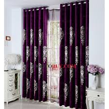 Purple Curtains Gorgeous Plum Velvet Curtains Ideas With Purple Curtains For