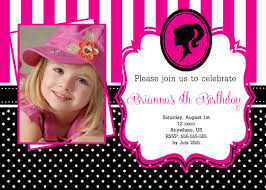 barbie birthday invitations alanarasbach com