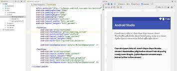 android font fonts in xml android developers