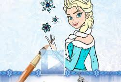 play frozen coloring 100 free fan free games