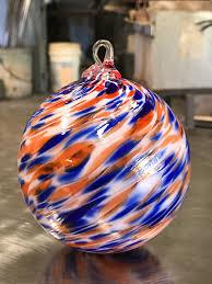 2017 official auburn university ornament orbix glass