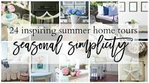 simplicity home decor seasonal simplicity