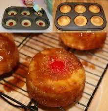 mini pineapple upside down cakes recipe pineapple upside