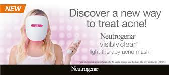 neutrogena light mask activator neutrogena light therapy acne mask kit my chemist