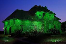 1byone aluminum alloy outdoor laser light projector