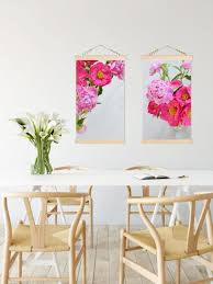 Peonies Bouquet Peonies Bouquet Canvas Wall Hanging Frost Design Co