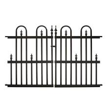 gothic metal fencing fencing the home depot