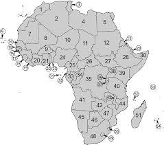 africa map quiz capitals capitals quiz by jonesyofuc