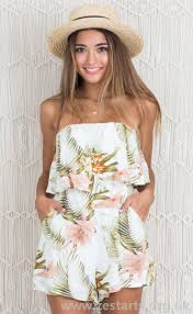 cool dresses designed women dresses white cool playsuit in floral