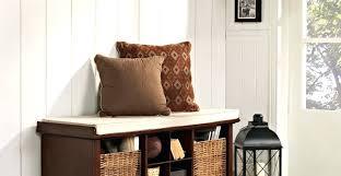 diy farmhouse bench tutorial narrow entryway bench canada small