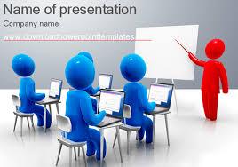 3d template powerpoint metlic info