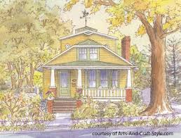 Airplane Bungalow House Plans Podcast 25 Characteristics Of Arts And Crafts House Plans