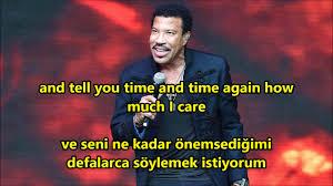Seeking Altyazä Lionel Richie Hello Ingilizce Türkçe Altyazı Turkish