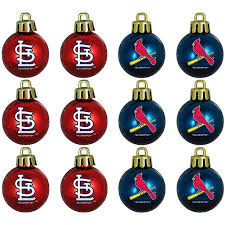 buy topperscot mlb st louis cardinals ornament set set of 12 in
