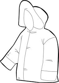 the best jacket for winter season in winter clothing coloring page