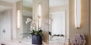 Bathrooms By Design Filament Lighting By Design Modern Light Fixtures Contrast