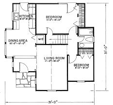 Tudor Floor Plan Tudor Style House Plan 2 Beds 1 Baths 922 Sq Ft Plan 43 103