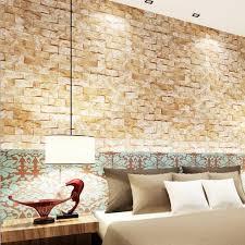 online buy wholesale brown brick wallpaper from china brown brick