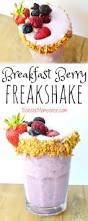 breakfast berry freakshake recipe low fat ice cream high
