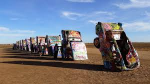 cadillac ranch carolina two for the road the cadillac ranch